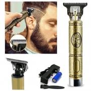 Maquina De Acabamento Cabelo Barba Aparador De Pelos Corpo
