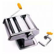 maquina de fazer massa caseira inox para 3 tipos de massa