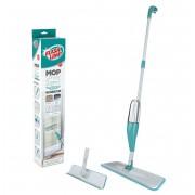 Mop Spray Rodo Esfregão 1.29m 400ml 2 em 1 Limpa vidros