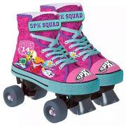 Patins Infantil Roller 4 Rodas Shopkins