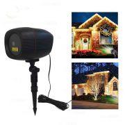projetor laser espeto para jardim natal e festas bluetooth