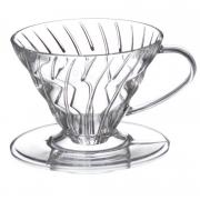 Suporte de Filtro Café Coador Acrílico Permanente Clink