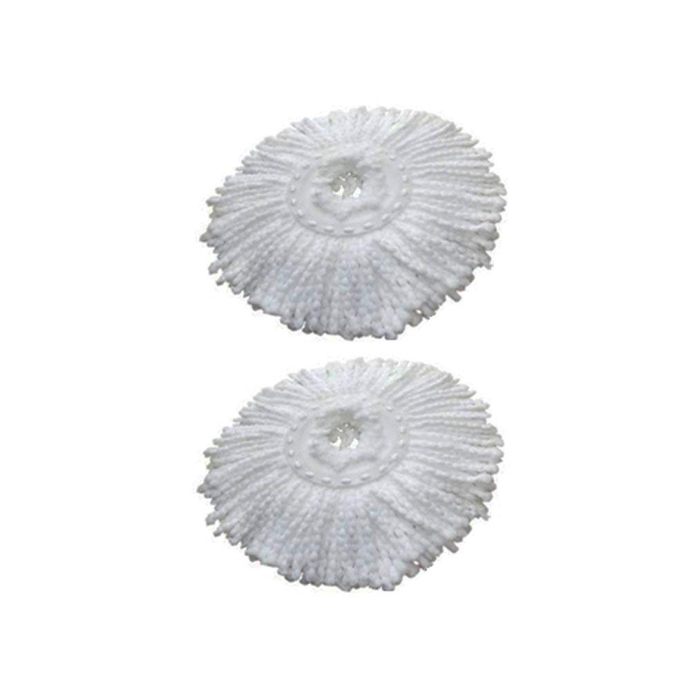 2 Refil Microfibra Balde spin Mop Universal Alta absorção