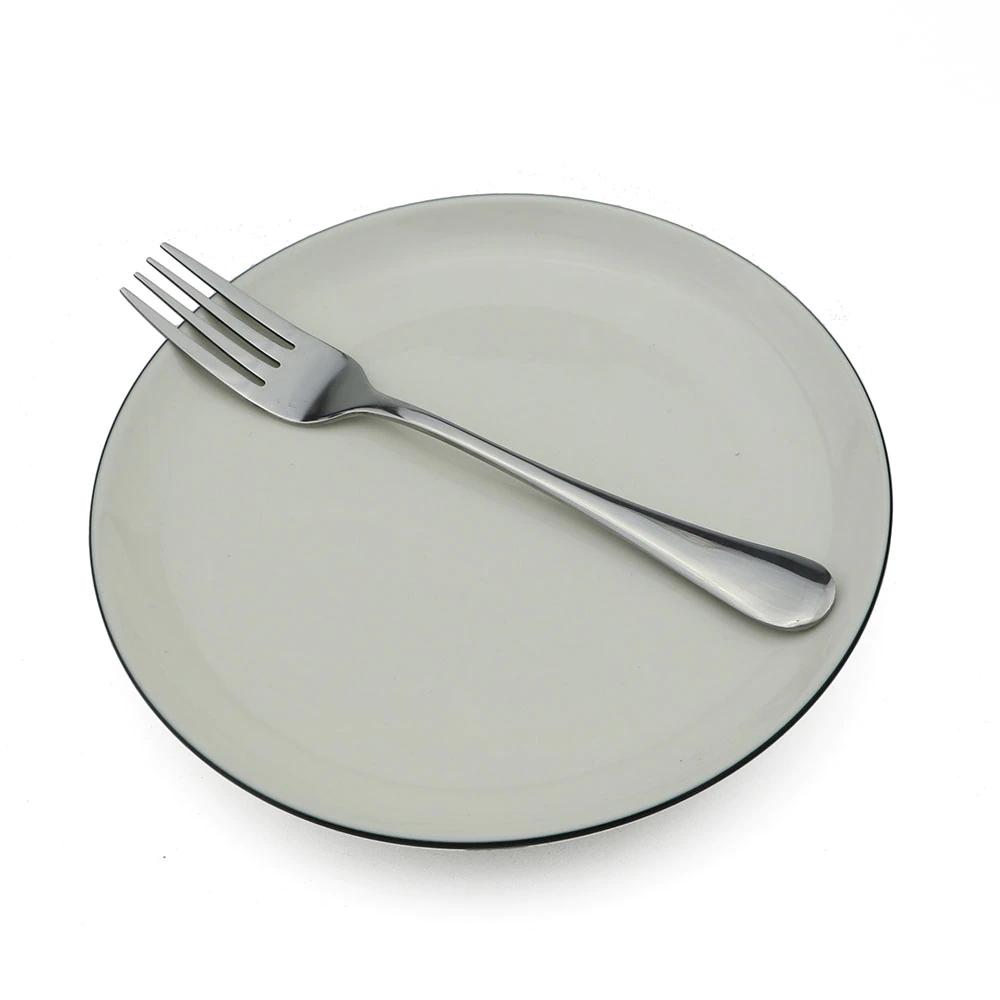 6 Garfos Jantar Mesa Inox Talheres Restaurante Pesado