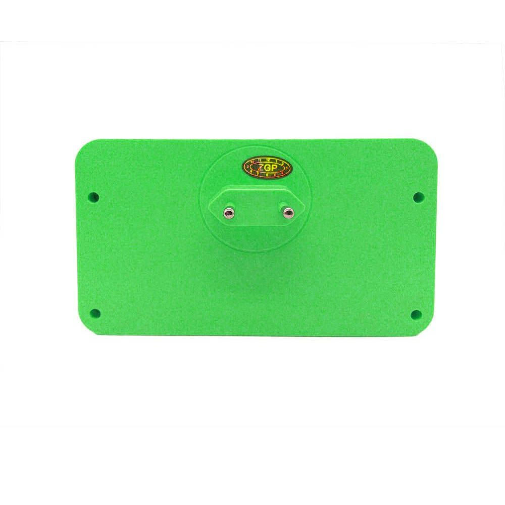 Adaptador de Tomada Universal 4 em 1 com Sensor Led Verde