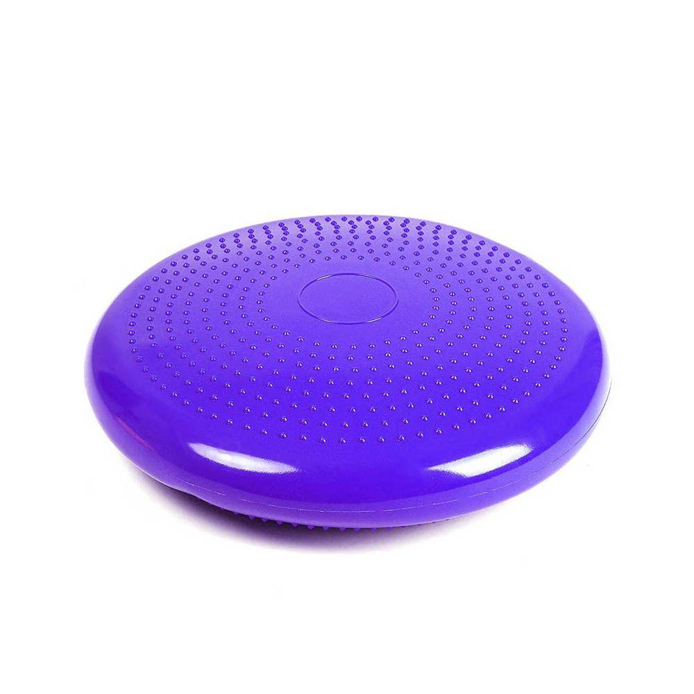 almofada disco de equilíbrio Inflável com diâmetro 34cm Roxo