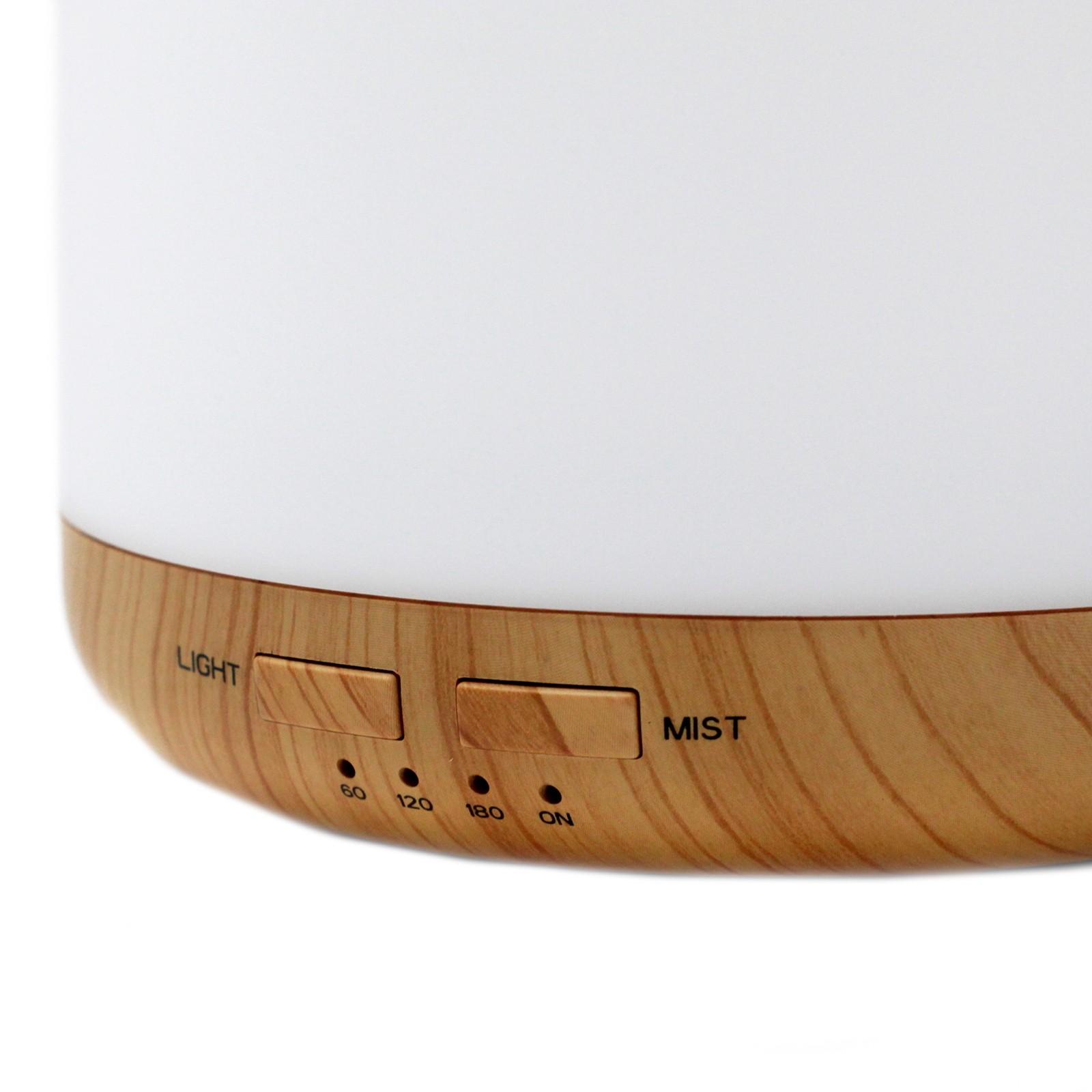 Aromatizador E Difusor De Ar Ultrassônico Aroma 7 Cores LED