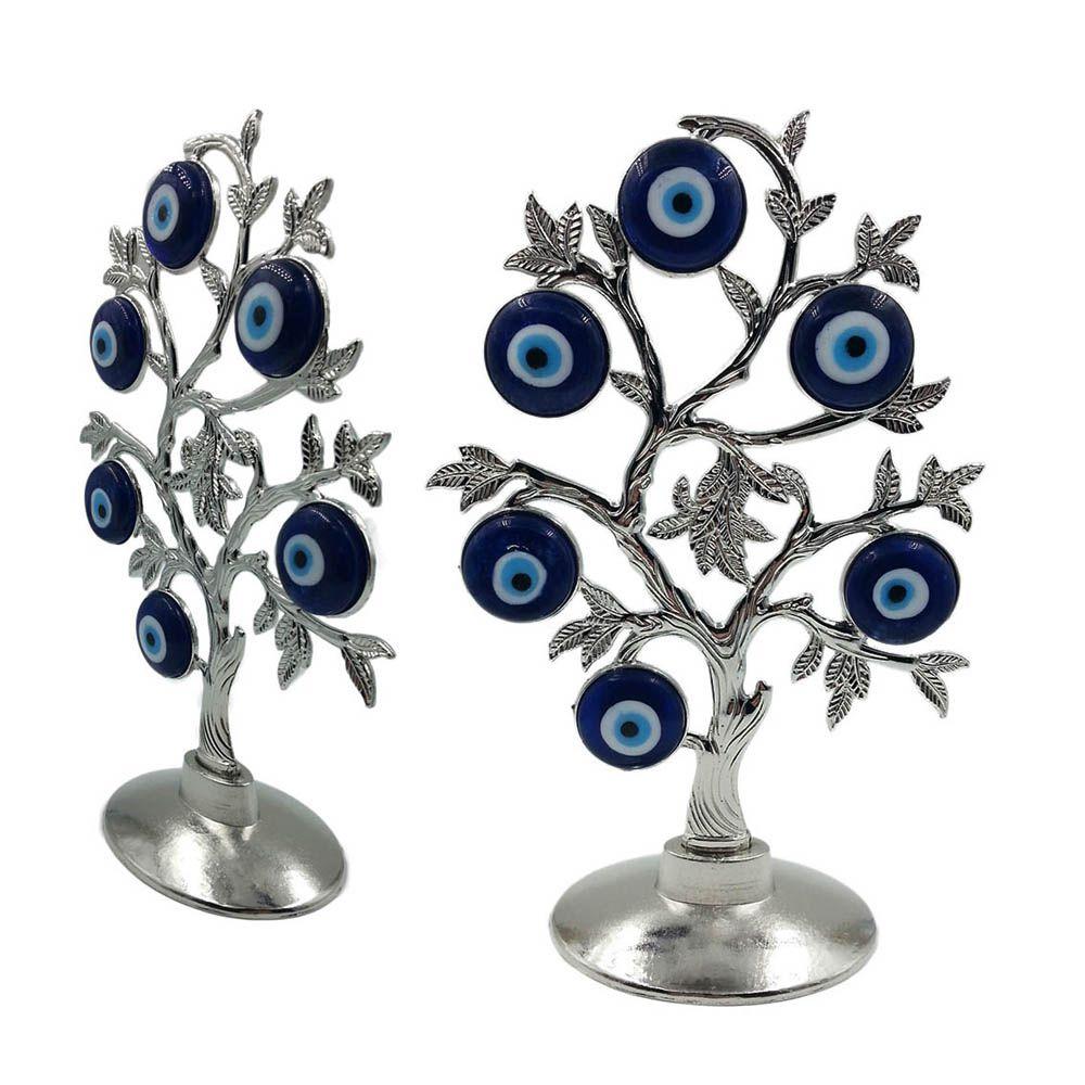 arvore olho grego 23cm decorativa amuleto de boa sorte