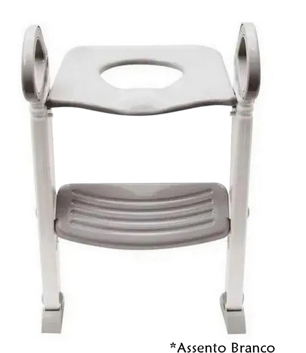 Assento Redutor Infantil Com Escada Para Vaso Sanitário