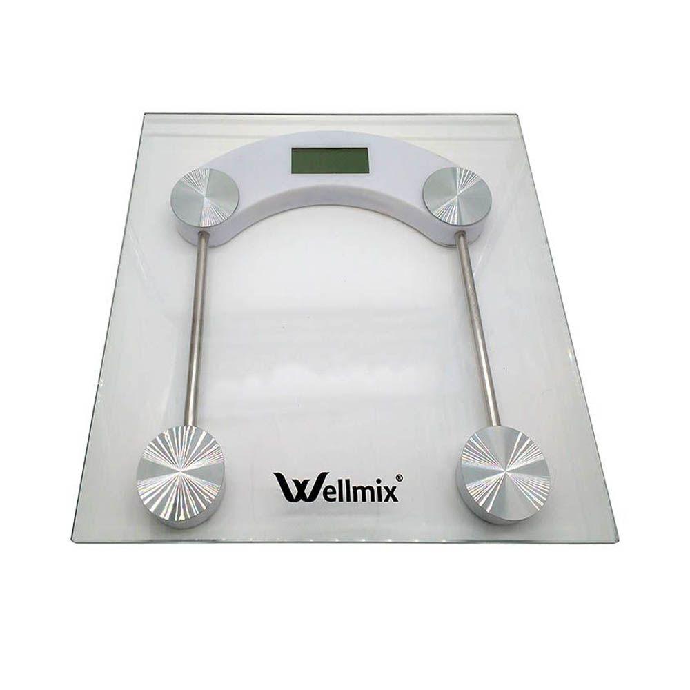 Balança de Vidro Digital Quadrada Wellmix