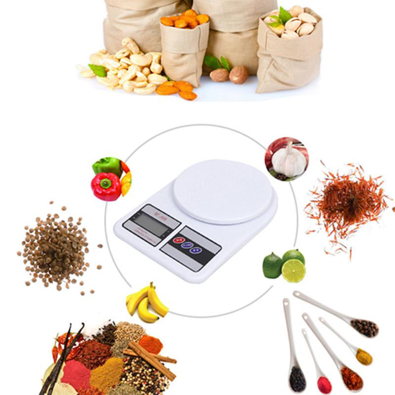 Balança Digital Cozinha 10kg Precisão Nutrição Dieta