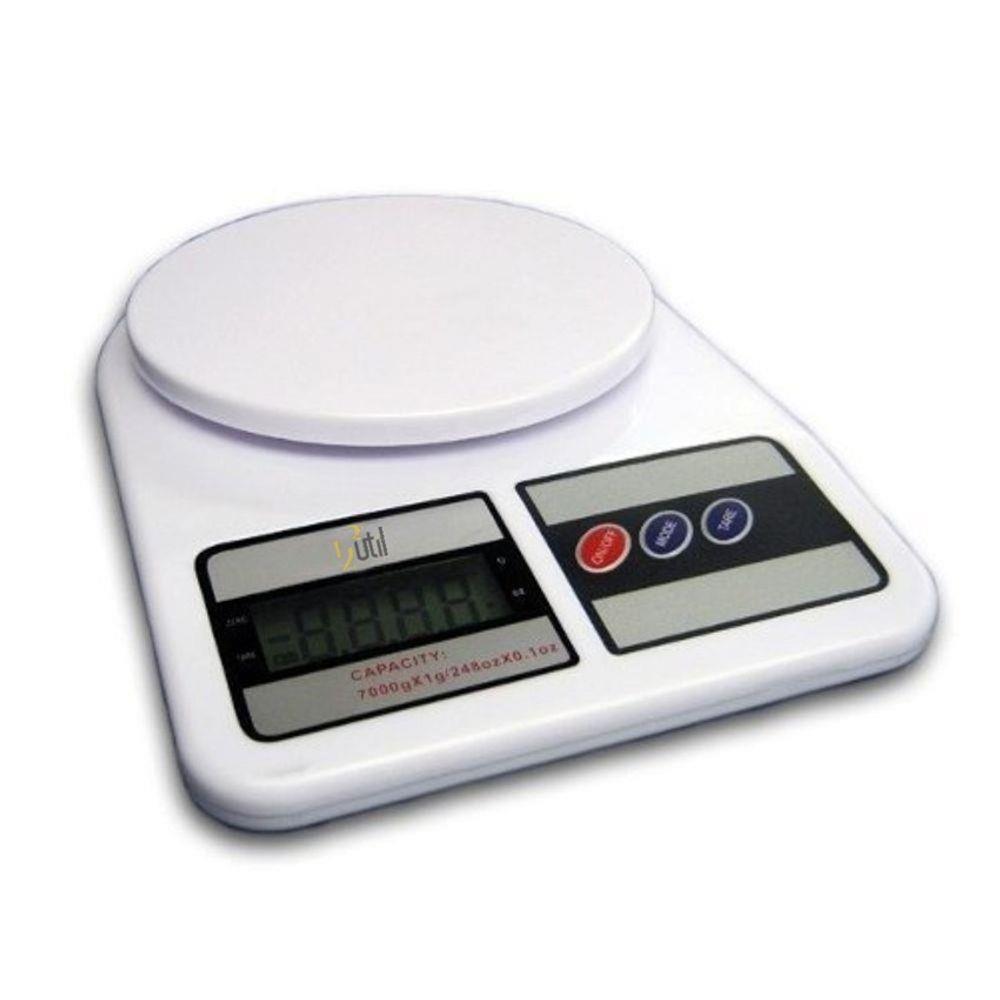 Balança Digital de Cozinha 10kg + Balança Colher Digital