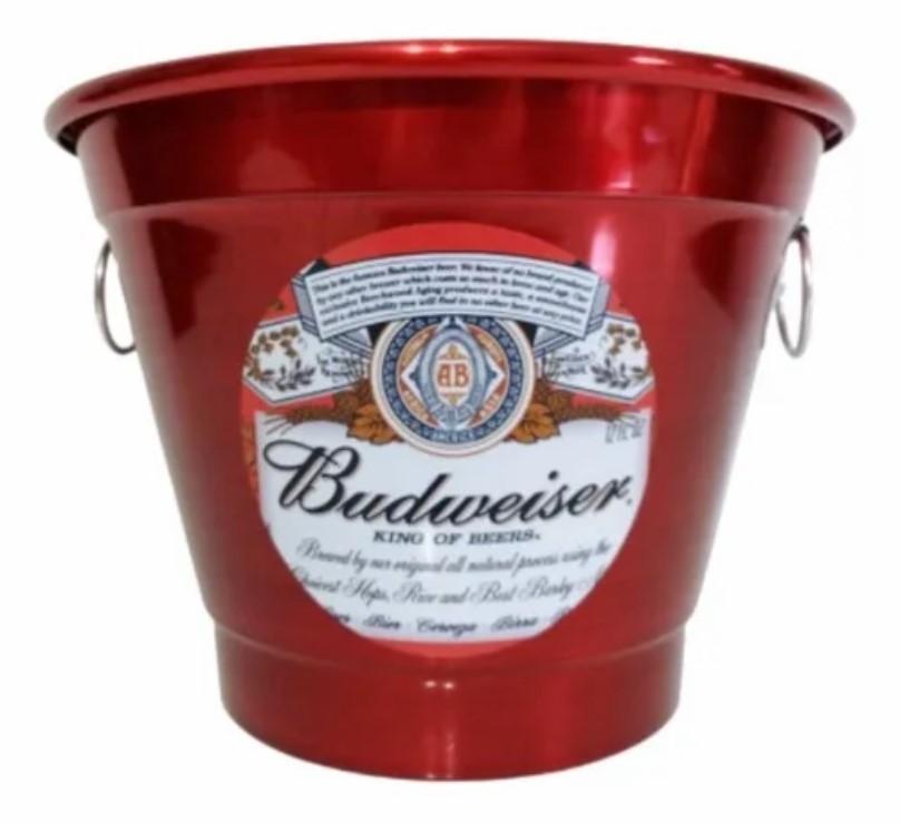 Balde De Gelo E Cerveja Personalizado Resistente 6 Litros