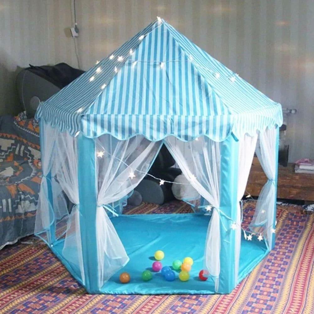 Barraca Infantil Tenda Cabana Castelo Princesas + Luzes Led