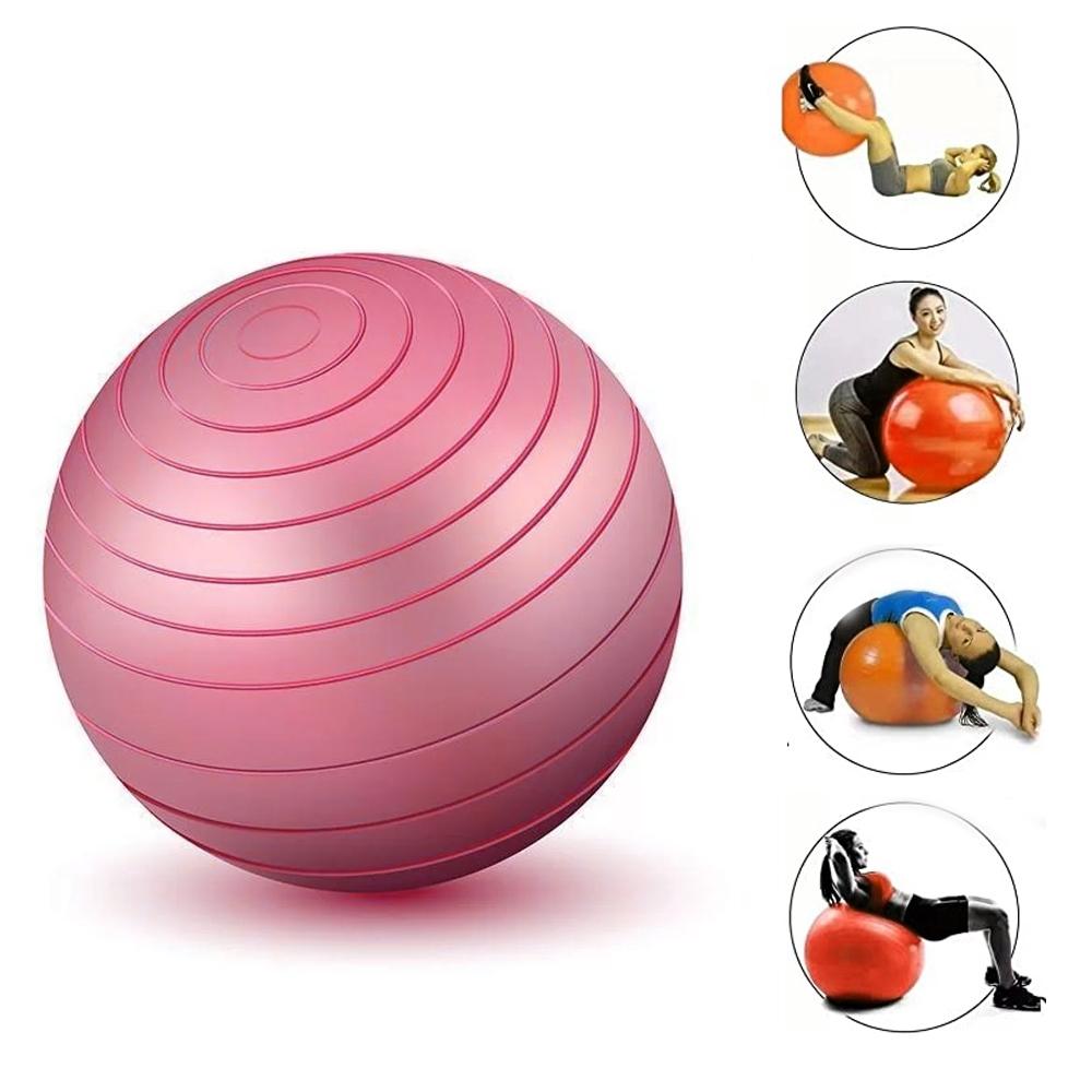 Bola Inflável Exercícios Pilates Yoga Abdominal Ginástica 85