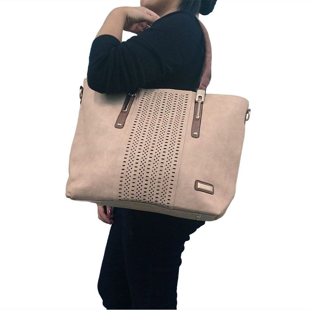 bolsa feminina kit 2 peças importadas com alças transversal