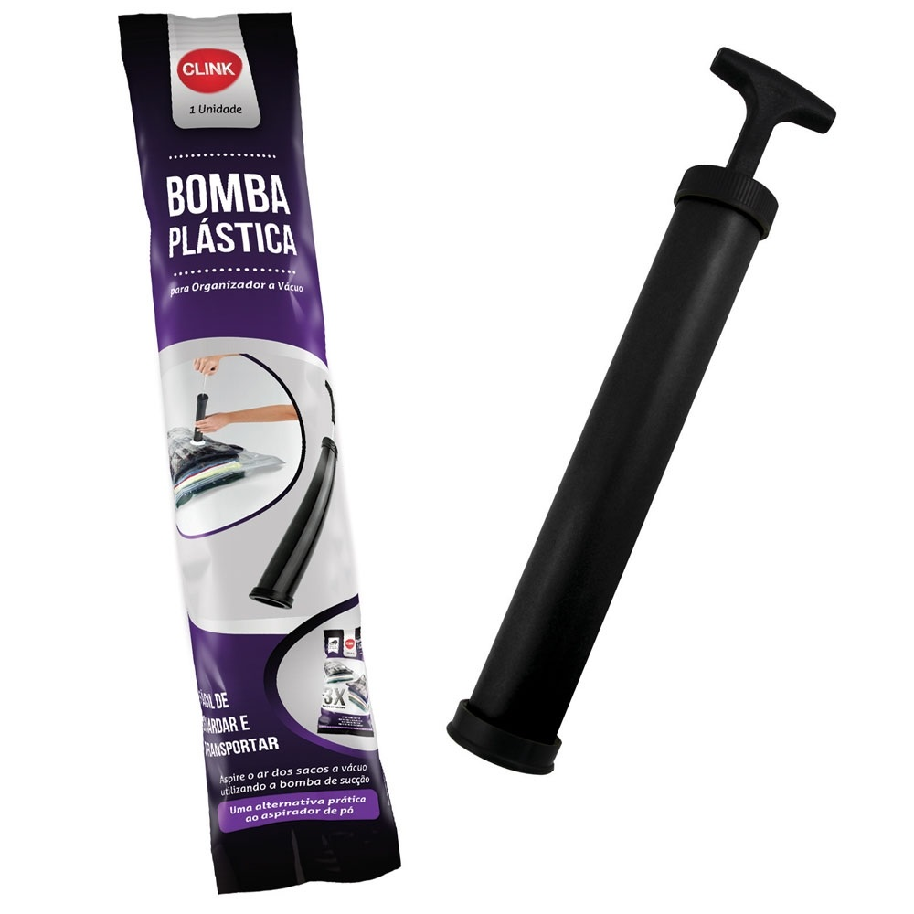 Bomba De Ar Para Saco A Vácuo Manual Retira ar saco Clink