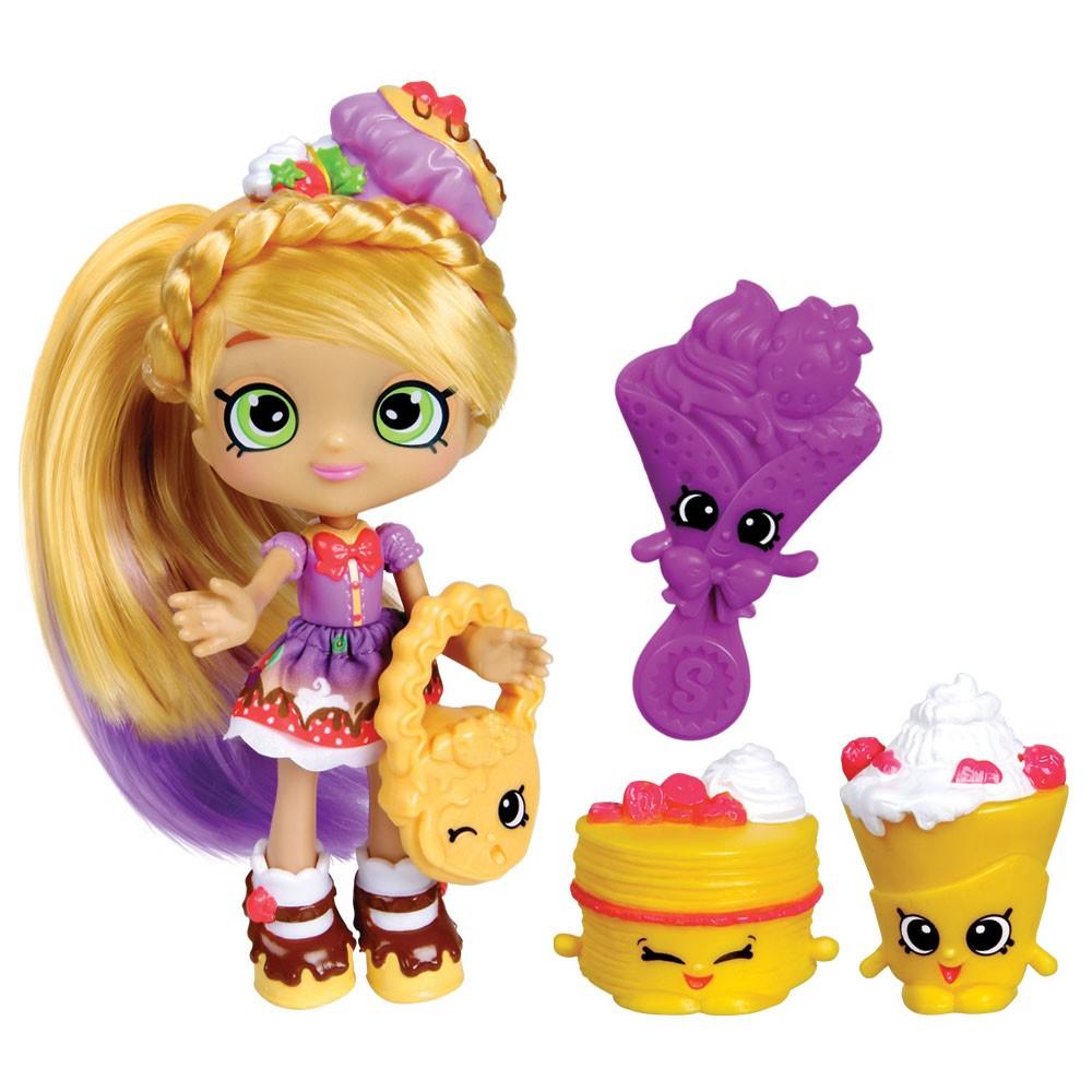 boneca pati keka shoppies e 2 shopkins exclusivos acessórios