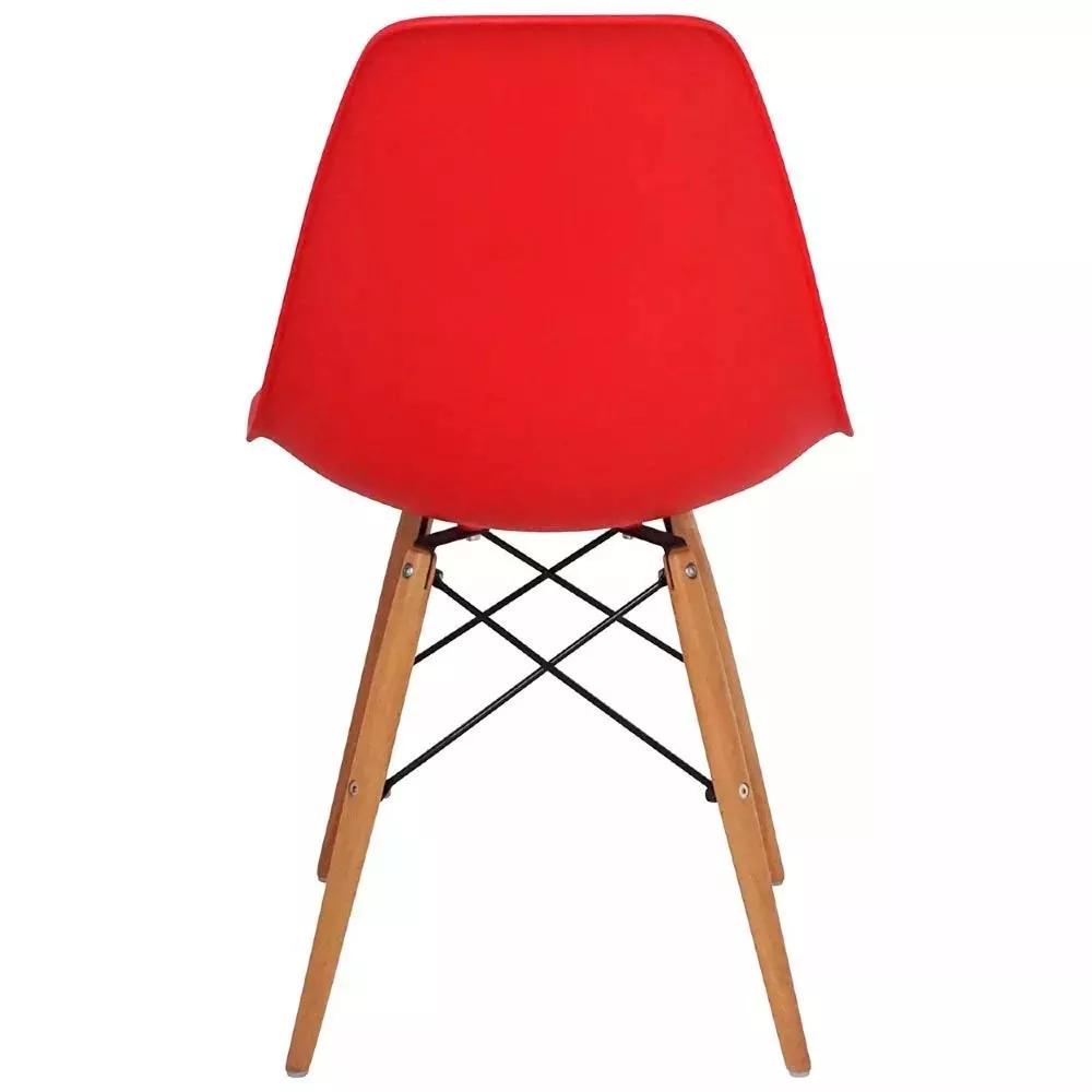 Cadeira Charles Eames Wood Retro Base Em Madeira Dsw