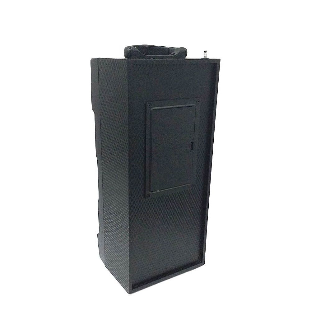 Caixa de Som Bluetooth com Radio FM Recarregável Preto