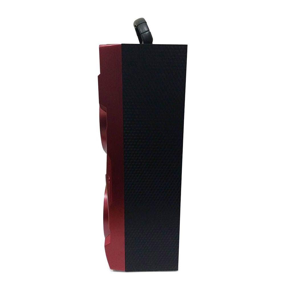 Caixa de Som Bluetooth 10W com Rádio FM Recarregável