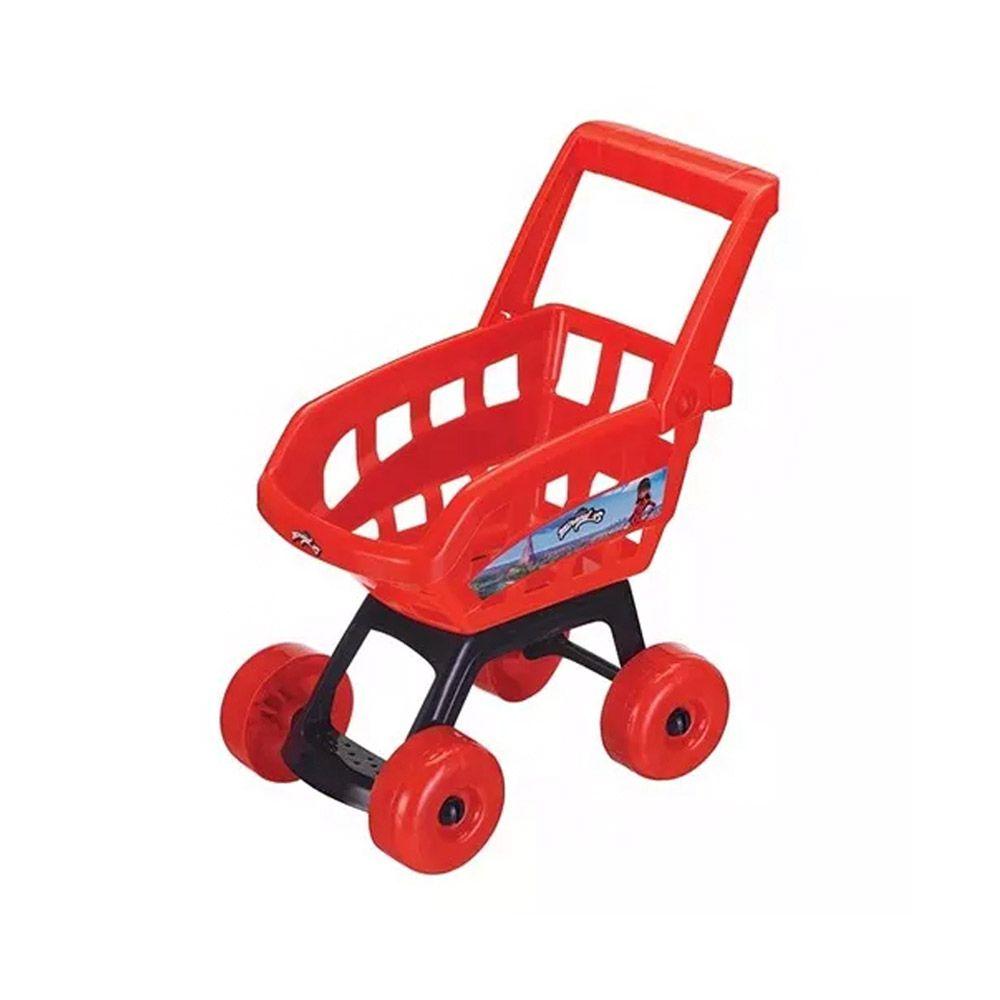 caixa registradora com carrinho de compras miraculuos