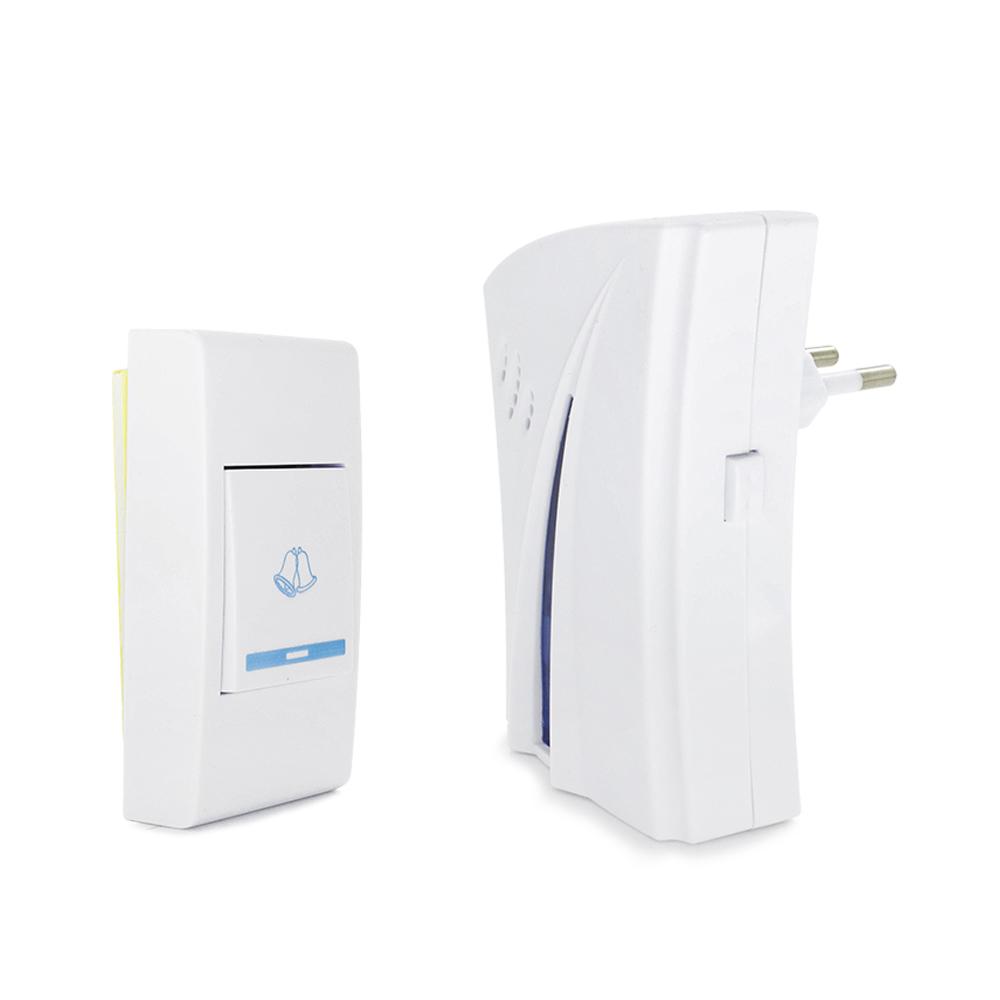 Campainha Residencial Wireless Sem Fio Resistente Água