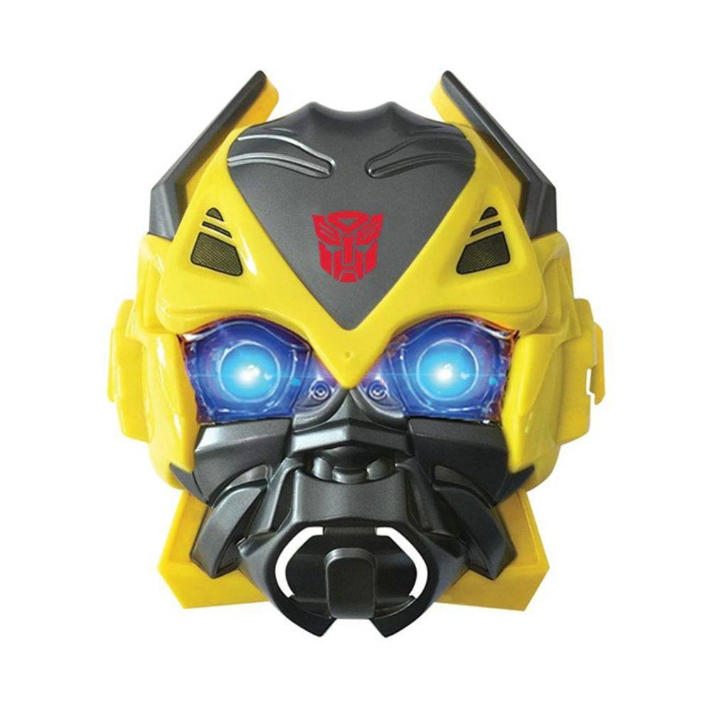 carrinho controle remoto com mascara bumblebee transformes