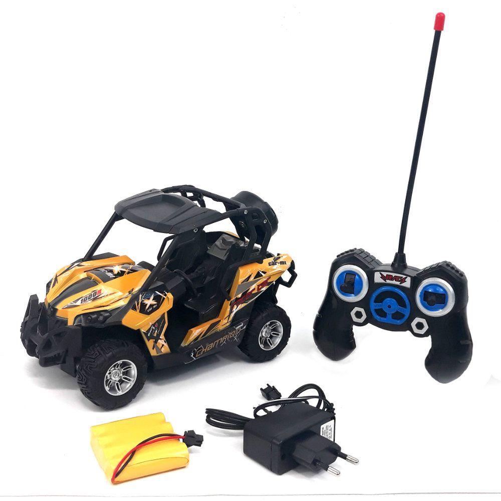 carro de controle remoto 7 funções com bateria recarregável