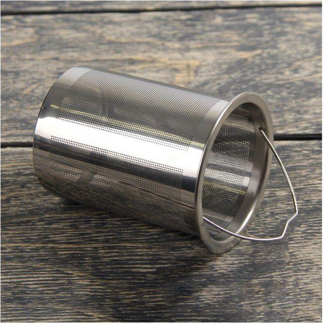 Chaleira Com Infusor De Chá 1 Litro Vidro Inox e cerâmica