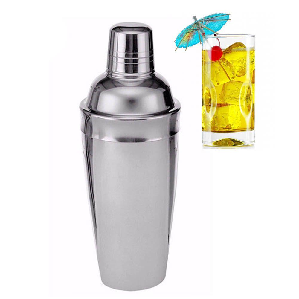 coqueteleira tradicional 750 Ml para Drinks em inox
