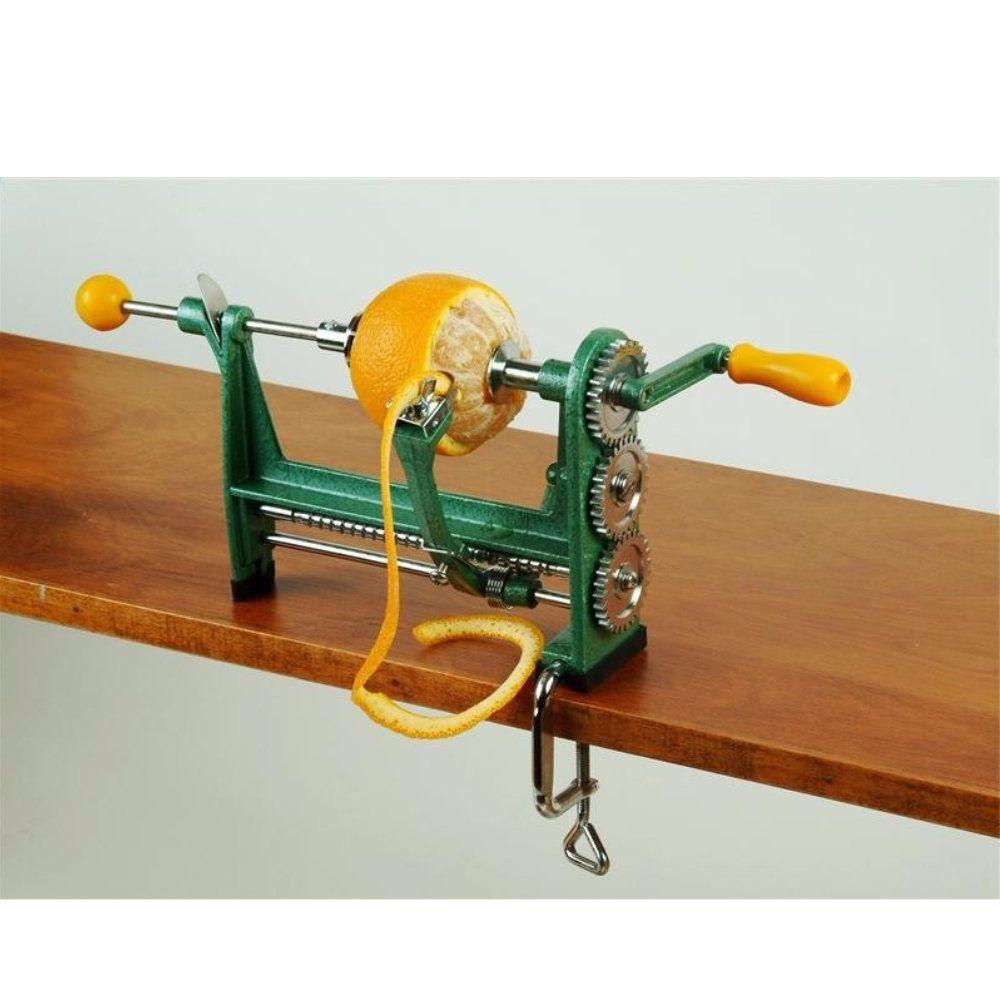 descascador de laranjas e frutas manual lâmina em aço inox