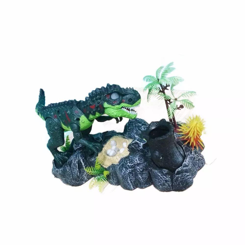 Dinossauro T. Rex Porta Canetas C/ Sons Movimentos Completo