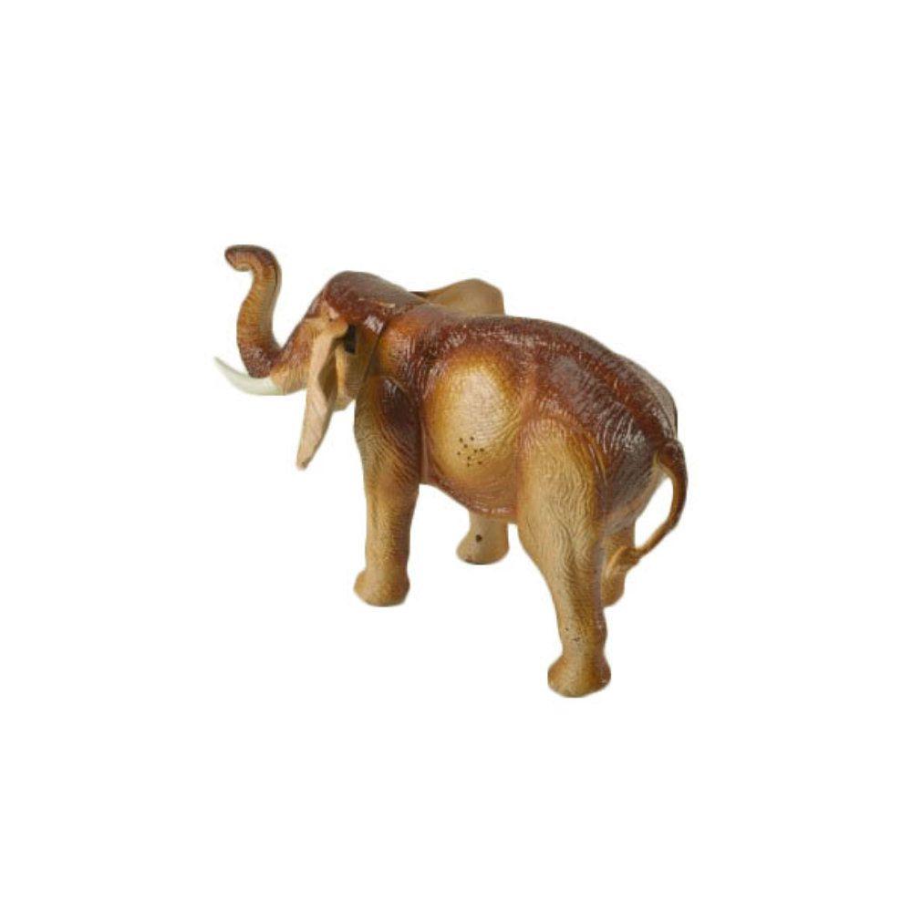 elefante de brinquedo 29cm boneco com luzes movimento e som