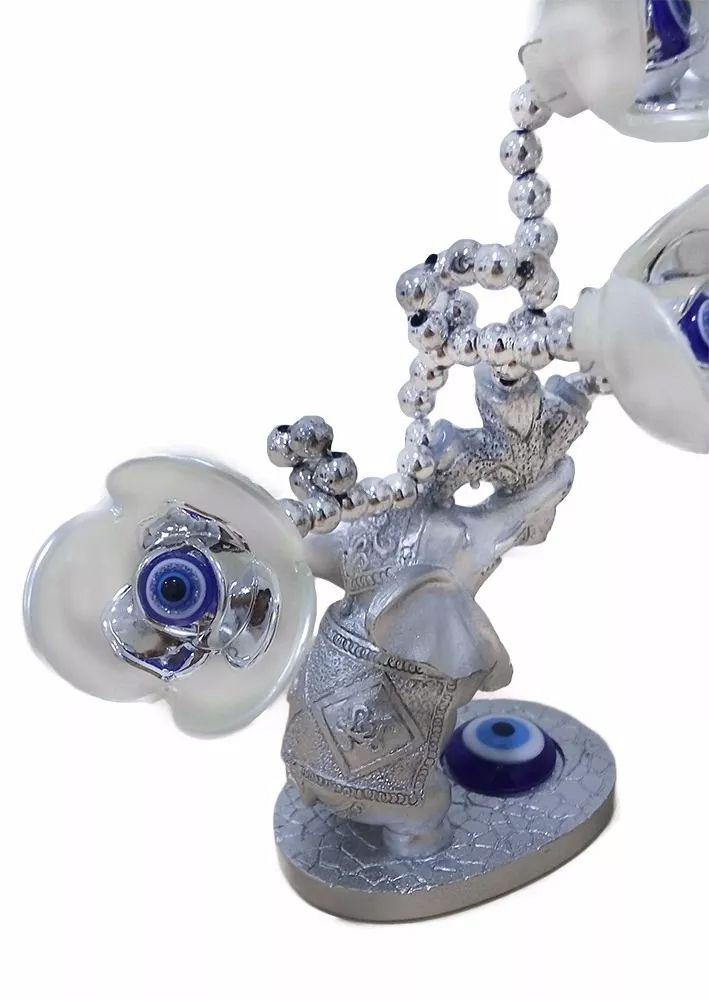 Enfeite Com Elefante Decorativo Olho Grego