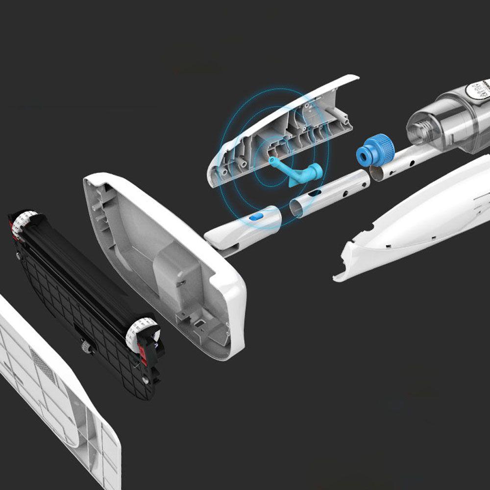 Esfregão Mop Spray com Vassoura Mágica 3 em 1 Cabo 1,28 m