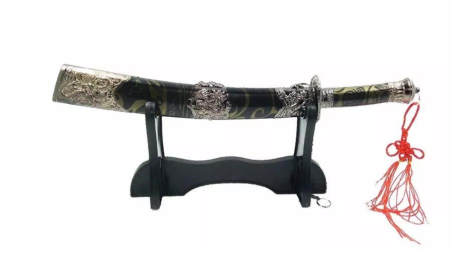 Espada Katana Com Pedestal Para Decoração E Colecionar