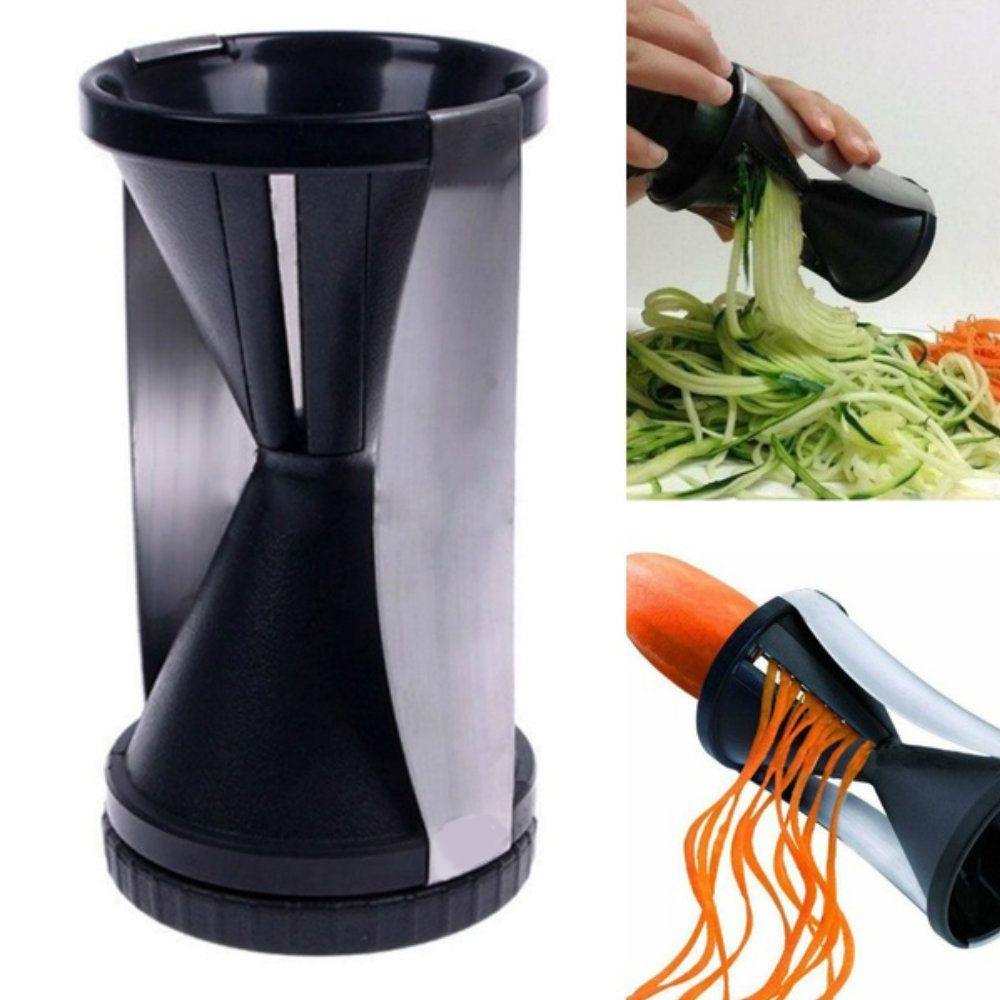 espiralizador de legumes e verduras fatiador em espiral