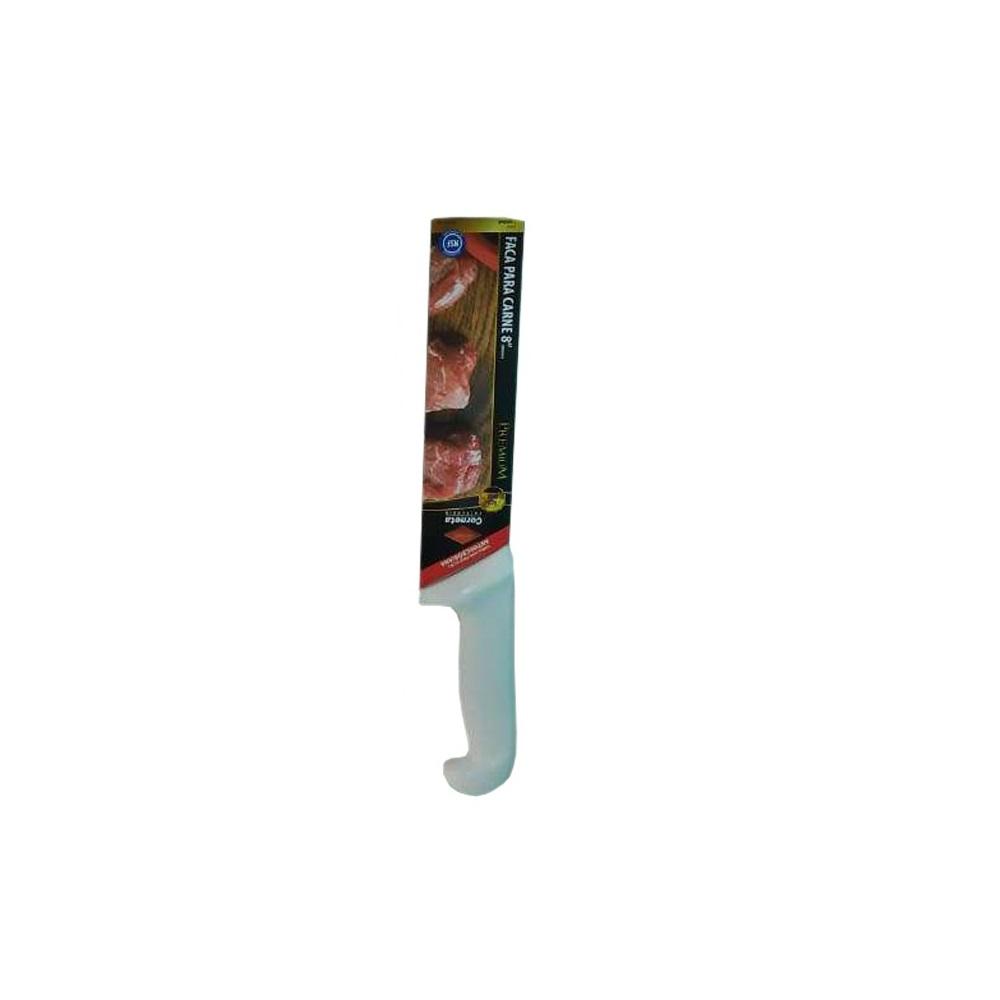 Faca Churrascaria Açougue Profissional Corneta Premium 8 pol