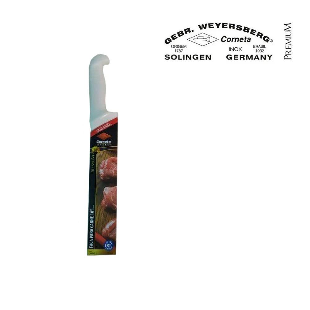 Faca para carne Açougue Profissional Corneta Premium 10 pol