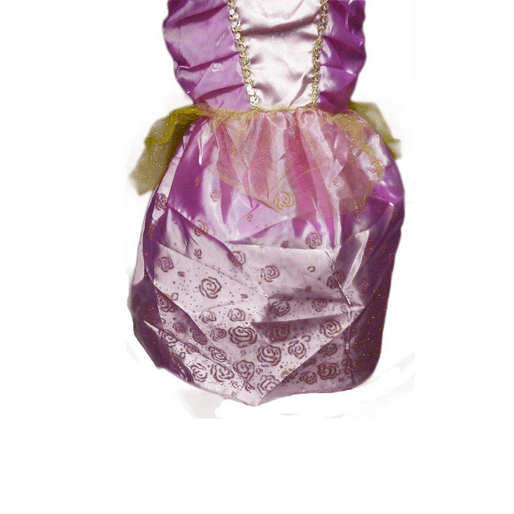 fantasia princesa bela adormecida aurora vestido infantil
