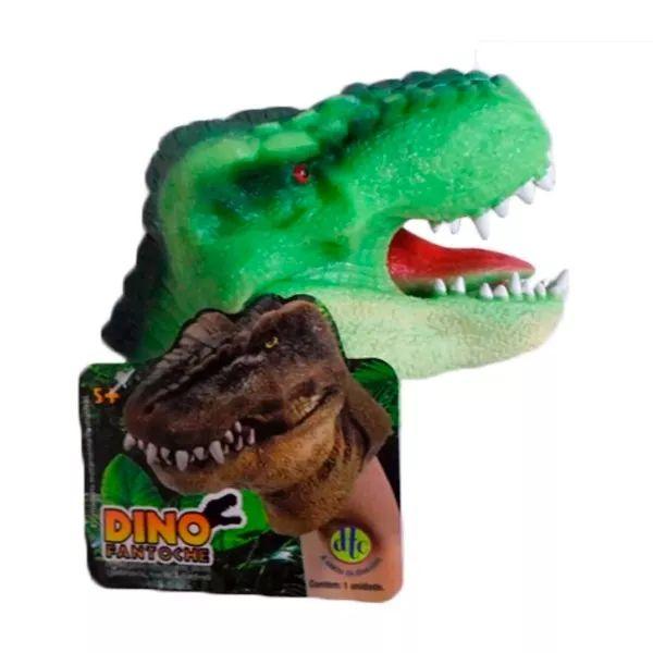 Fantoche De Dinossauro Flexível Boneco Infantil