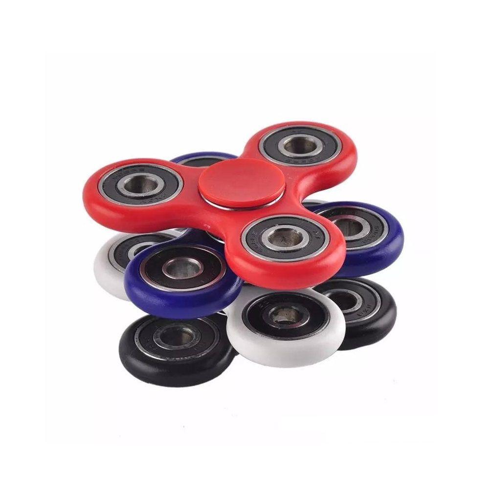 fidget spinner brinquedo anti-stress e ansiedade - branco