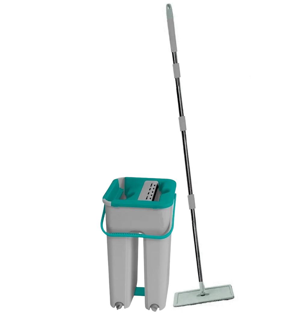 Flat Mop Multiuso Wash Slim Vertical Lava Seca refil extra