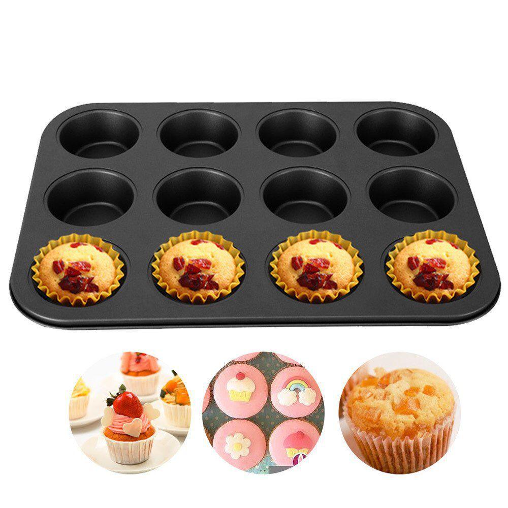 Forma de cupcake pão de queijo 12 cavidades teflon antiaderente