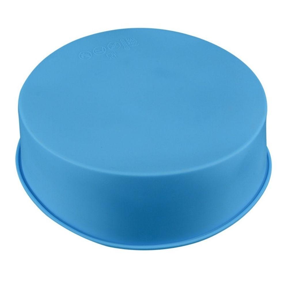 Forma de Silicone Bolo Torta Redonda Assadeira 25cm