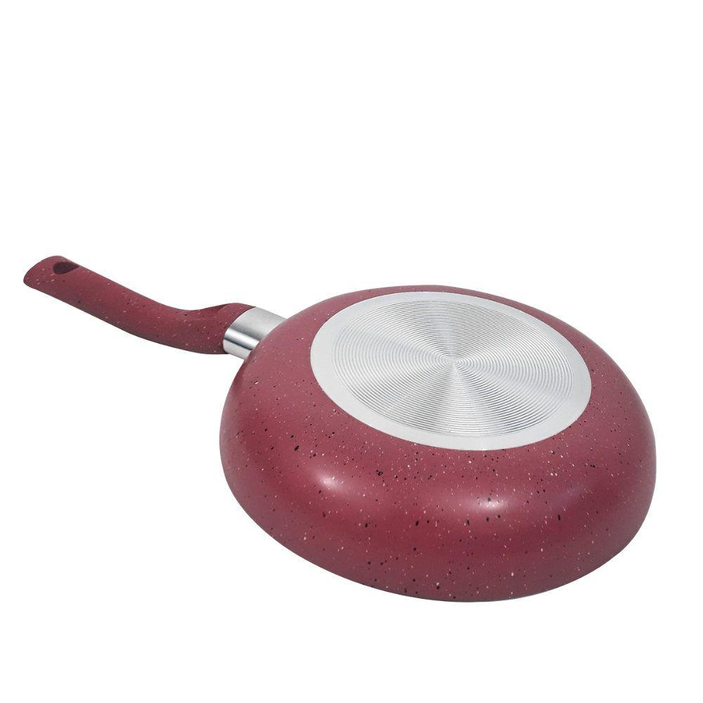 frigideira antiaderente 22 cm com revestimento teflon