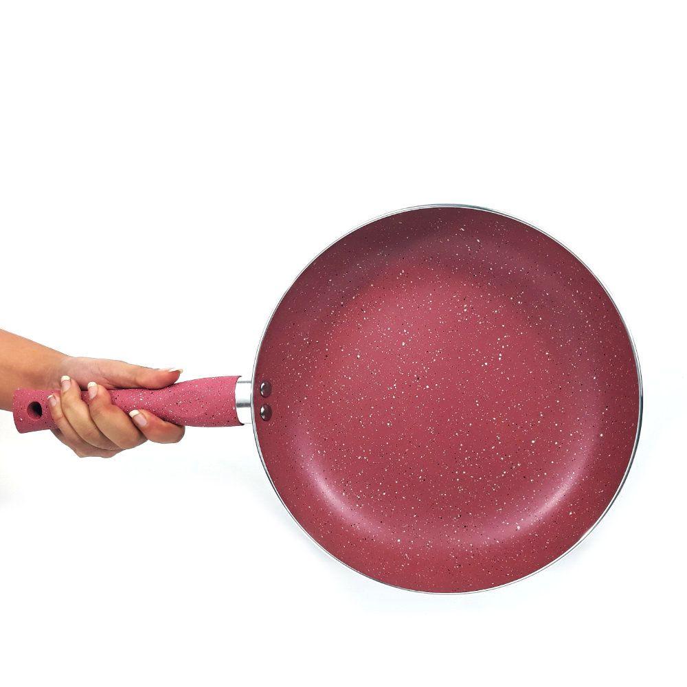 frigideira antiaderente 26 cm com revestimento teflon