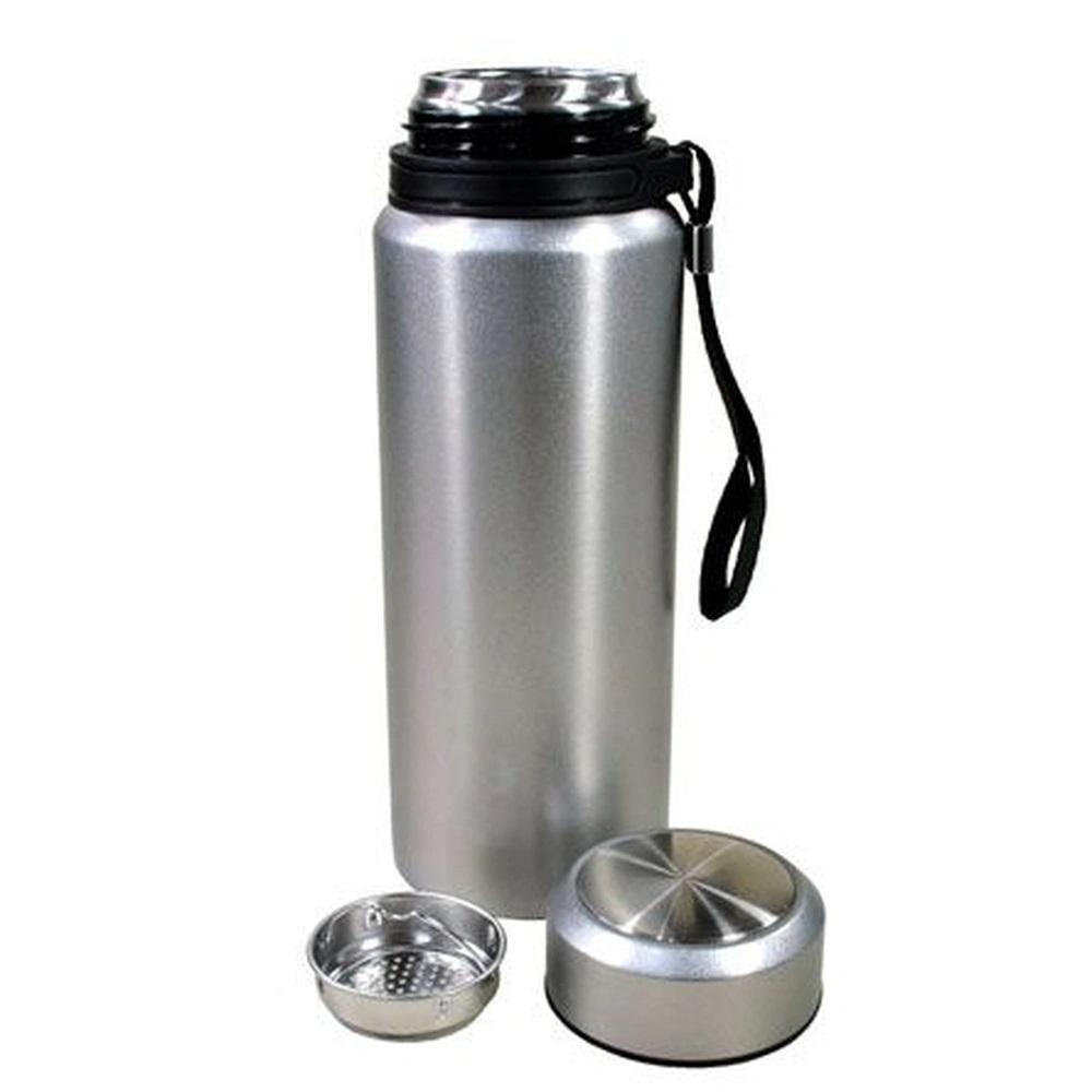 Garrafa Térmica Aço Inoxidável 650Ml Resistente Com Infusor