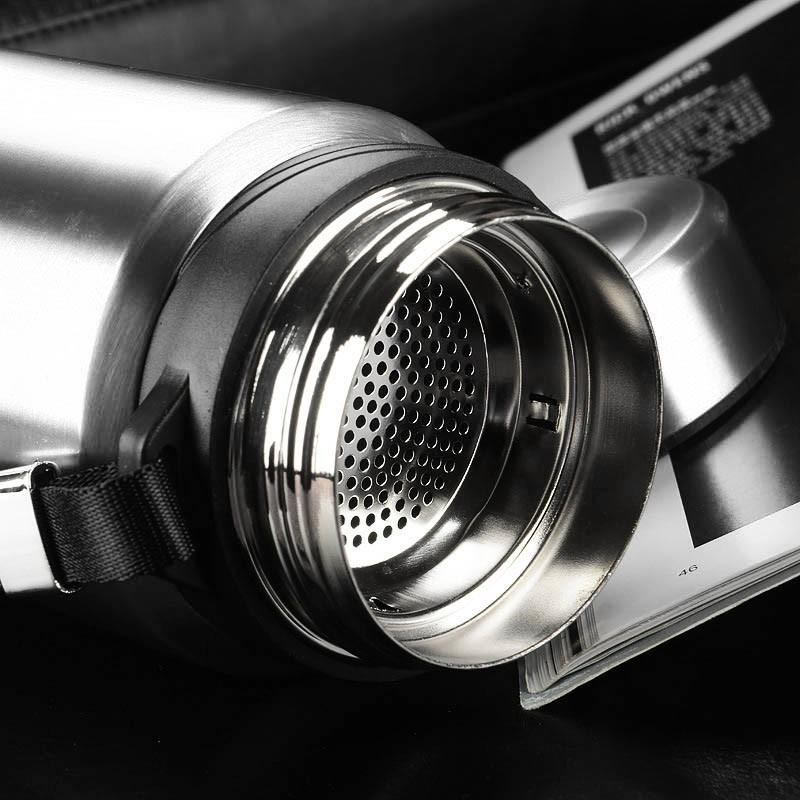 Garrafa Térmica Aço Inoxidável 750 Ml Resistente Com Infusor
